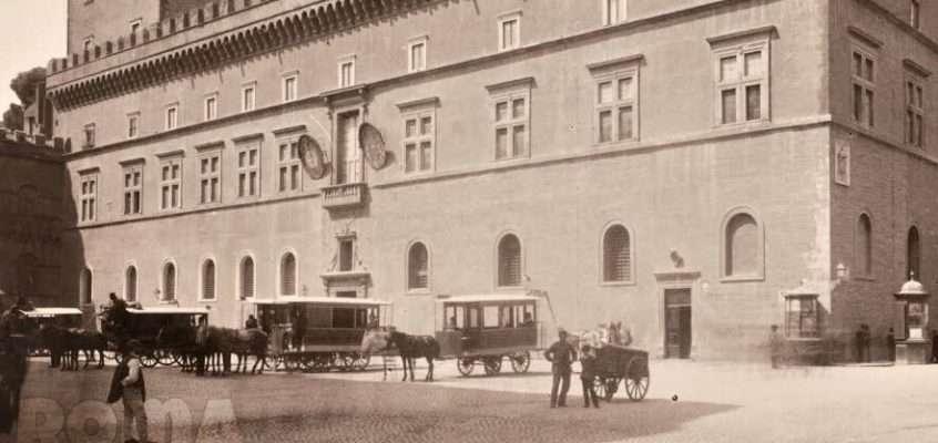 Piazza Venezia (1885 ca)