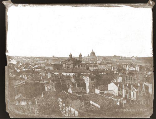 Vista dal Pincio (1850 ca)