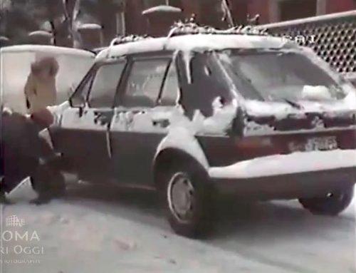 Neve a Roma (1985) Tg2