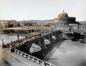 Castel Sant'Angelo tra il 1885 e il 1890