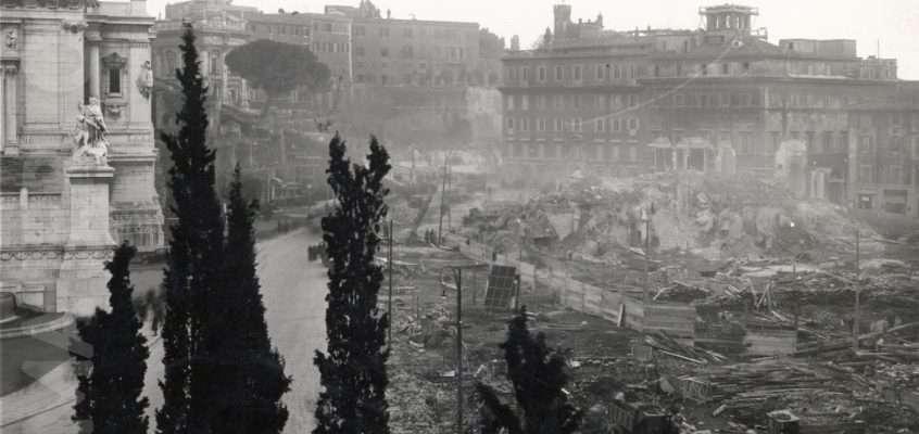 Piazza d'Aracoeli (1930 ca)
