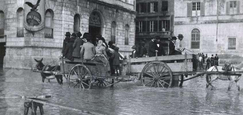 Piazza Pia (1915 ca)