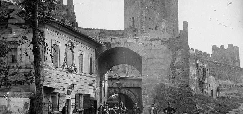 Porta Tiburtina (1865 ca)