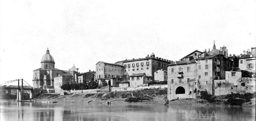 Lungotevere dei Sangallo (1887 ca)