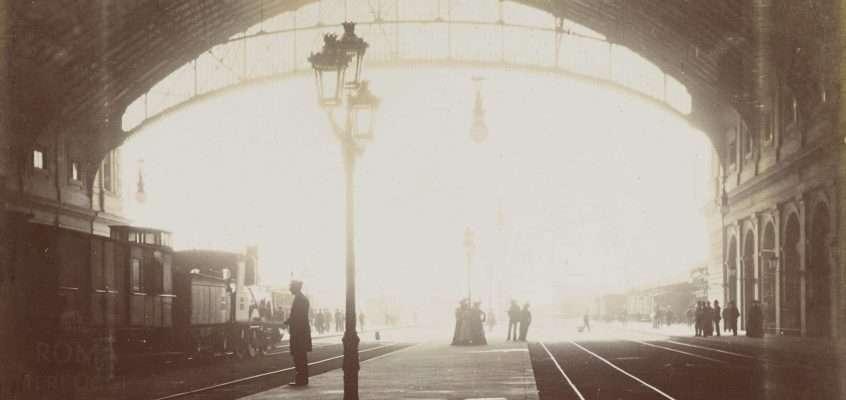 Stazione Termini (1910 ca) 3 foto