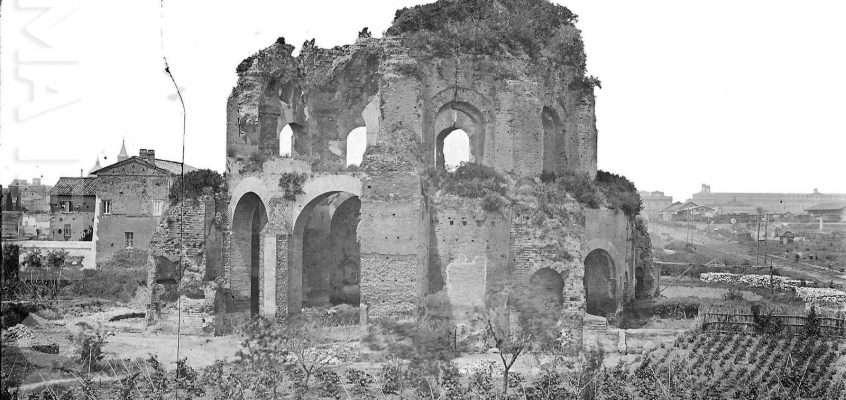 Tempio di Minerva Medica post 1876