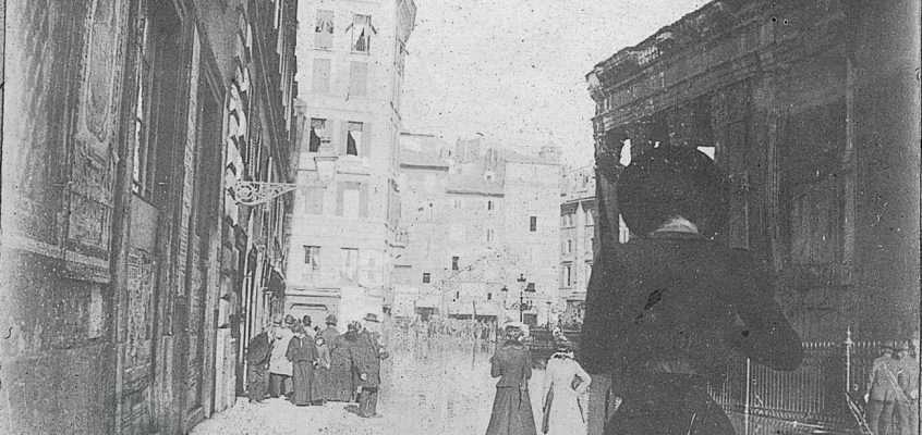 Via della Rotonda (1910 ca)