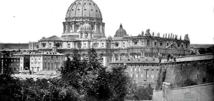 Viale delle Mura Aurelie (1900 ca)