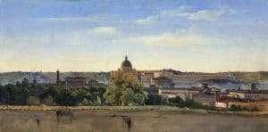 """""""Vista di Roma"""" di Pierre Henri de Valenciennes (1782-1784)"""