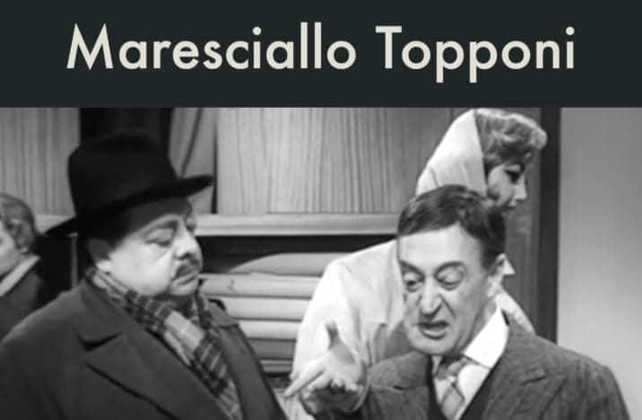 Maresciallo Topponi – I Tartassati (1959)