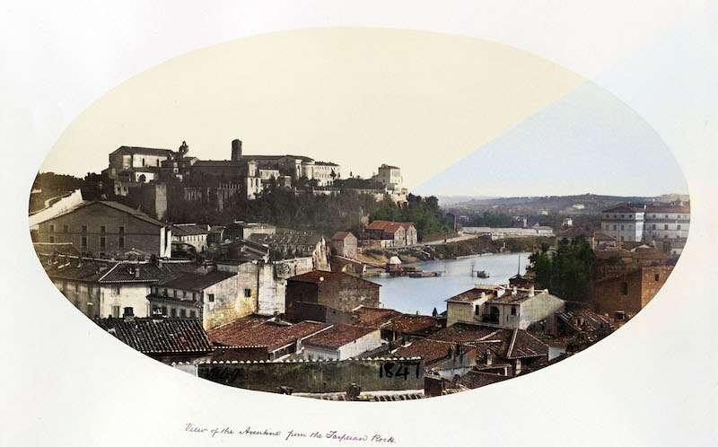 Panorama dalla Rupe Tarpea (Macpherson, 1860 ca)