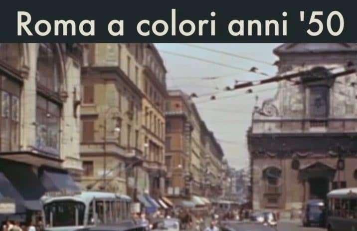 Roma colori anni '50