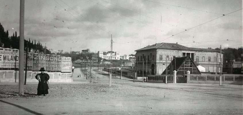 Piazzale delle Belle Arti angolo via Flaminia (1911)
