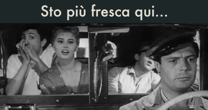 Sto più fresca qui… – Peccato che sia una canaglia (1954)