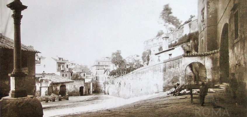 Via di San Francesco di Paola (1880 ca)