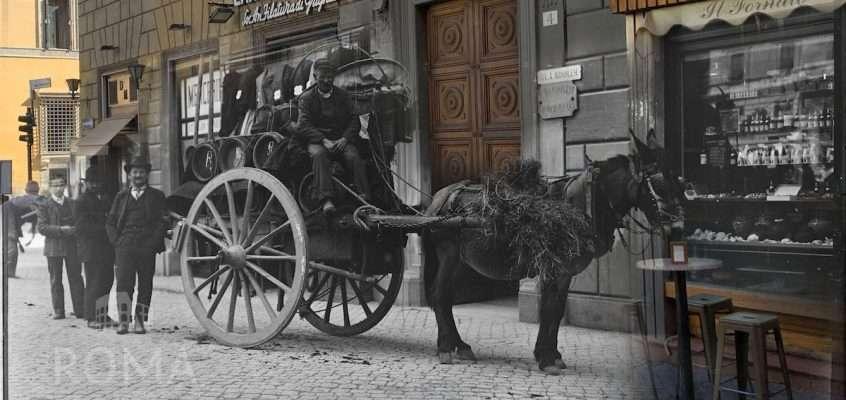Via dei Baullari (1900 ca)