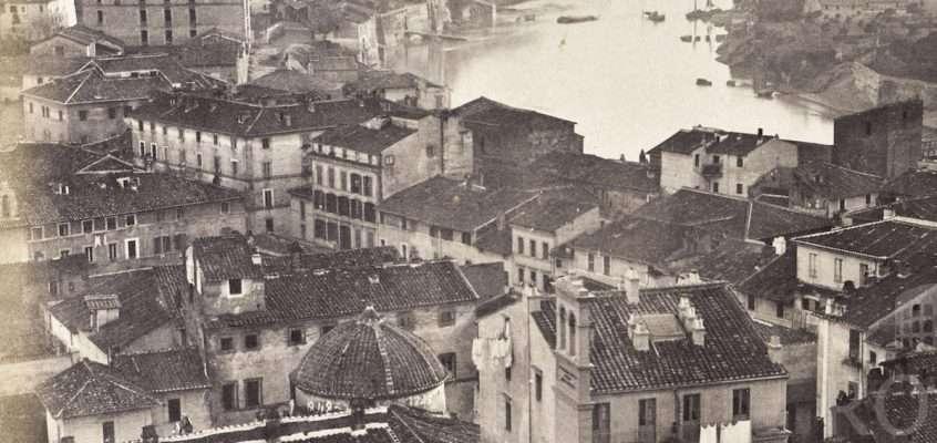 Panorama sull'Aventino (1859)