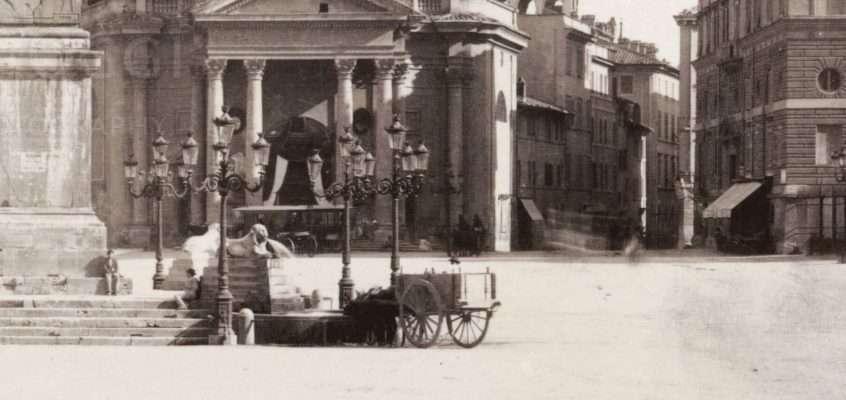 Piazza del Popolo 1880 ca