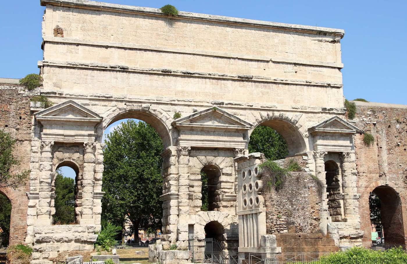 Porta Maggiore 1870