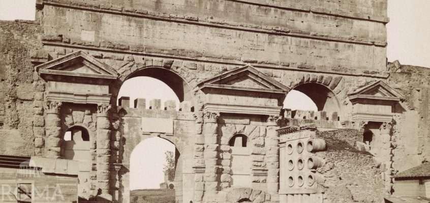 Porta Maggiore (1870 ca)