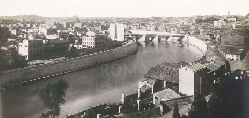 Panorama Tevere (1900 ca)