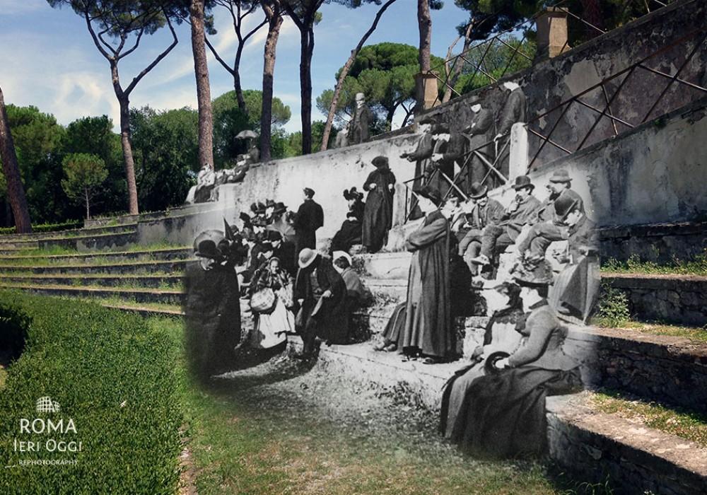 Spettacolo a Piazza di Siena