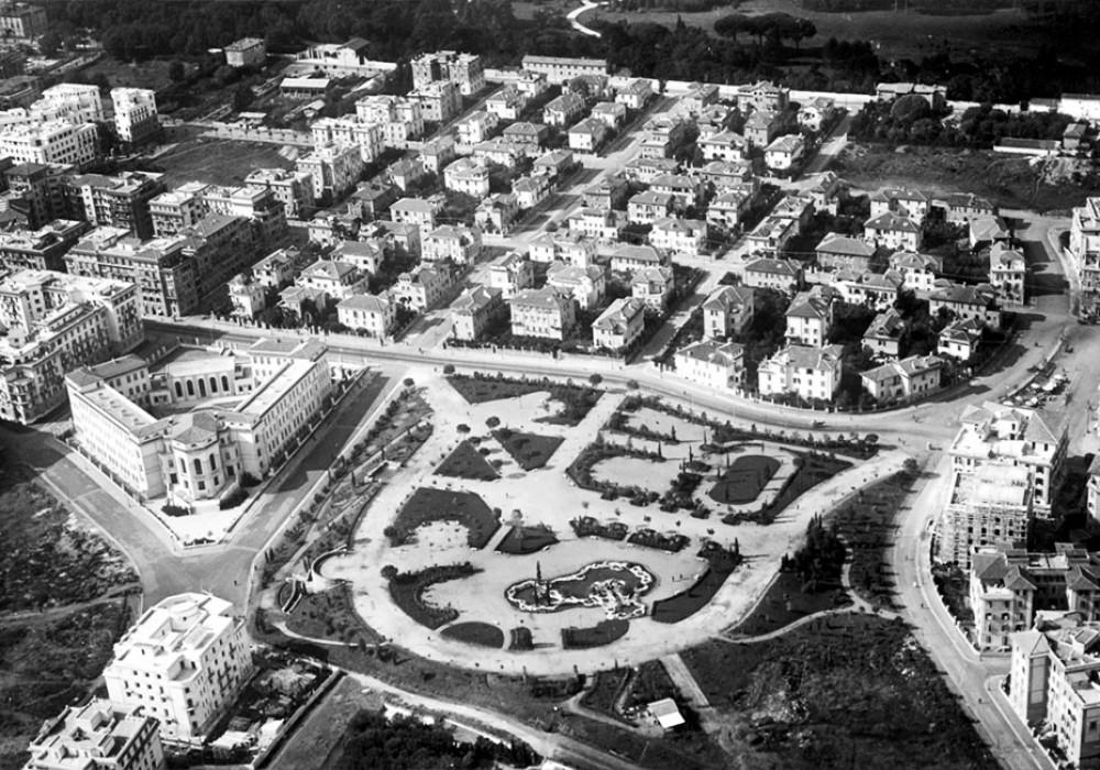 Roma dall'alto: Parco Virgiliano